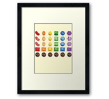 Sugar Crush Framed Print