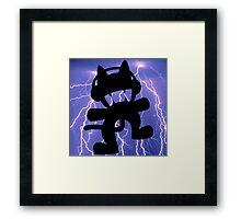 Monstercat -  Lightning Edit  Framed Print