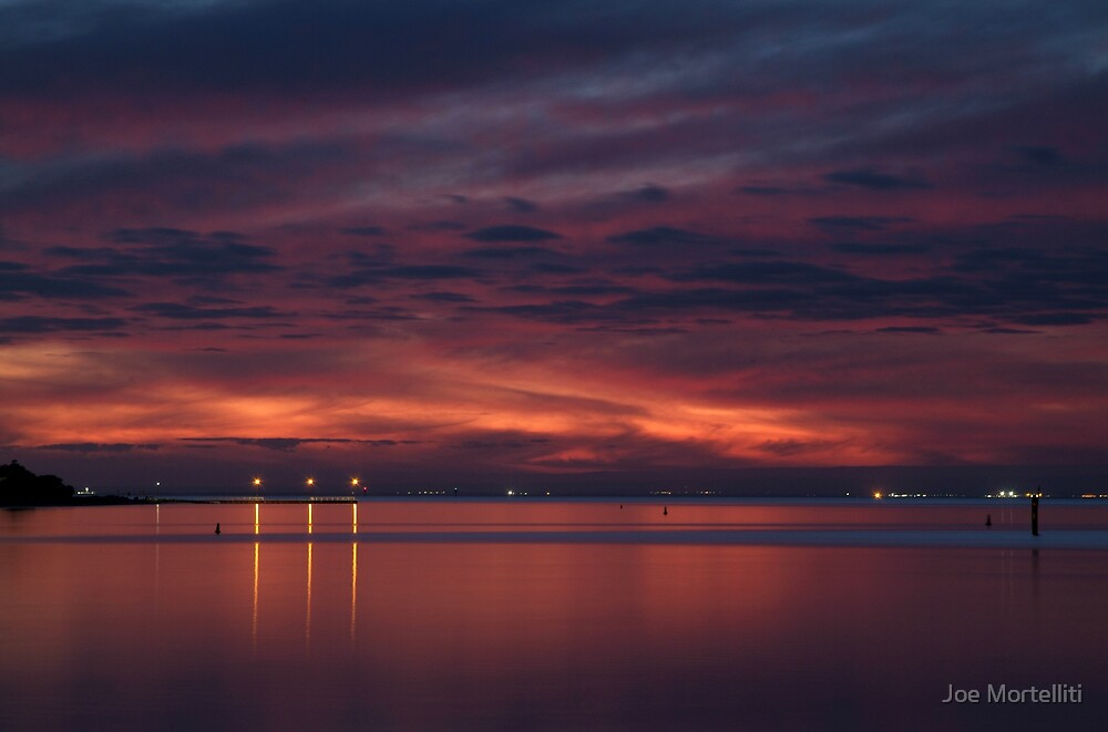 Corio Bay, Portarlington,Bellarine Peninsula by Joe Mortelliti