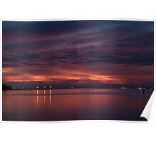 Corio Bay, Portarlington,Bellarine Peninsula Poster