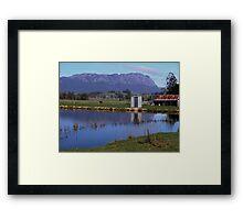 Australia - Tasmania, Mt Roland Framed Print