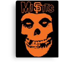 SF Misfits (NOW WITH BETTER COLOR!) Canvas Print