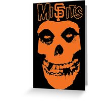 SF Misfits (NOW WITH BETTER COLOR!) Greeting Card