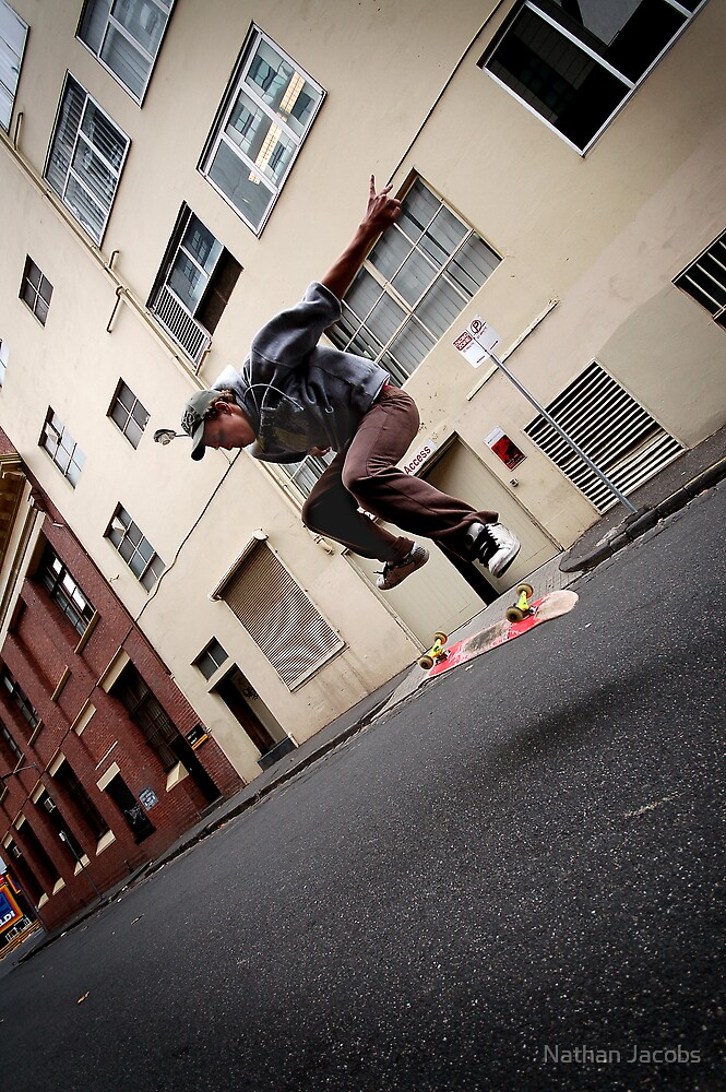 Skating Melbourne by Nathan Jacobs