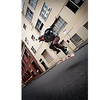 Skating Melbourne Photographic Print
