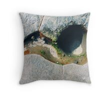 Rockpools 19 Throw Pillow