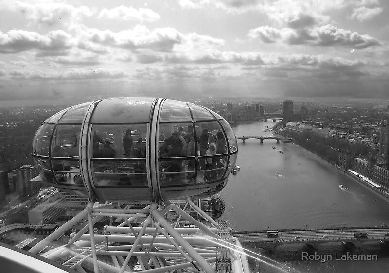 View from the London Eye by Robyn Lakeman