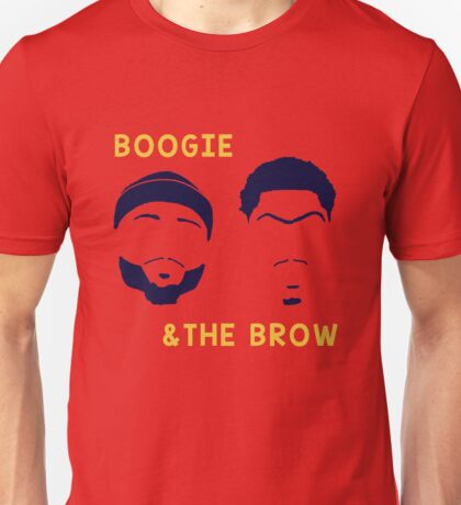 Boogie and The Brow Unisex T-Shirt