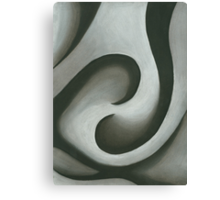 Charcoal Balance Canvas Print