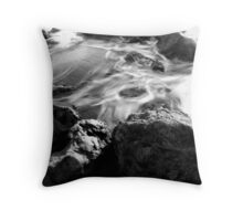 tidal chaos Throw Pillow