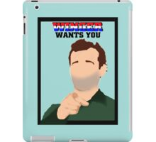 WINGER WANTS YOU iPad Case/Skin