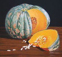 Pumpkin by Freda Surgenor