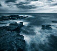 Sea at Dusk by Will Barton