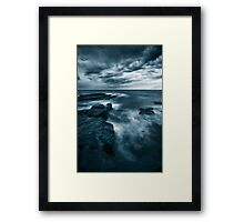Sea at Dusk Framed Print