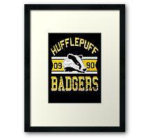 Badgers Framed Print