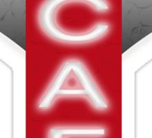 ATOMIC CAFE Sticker