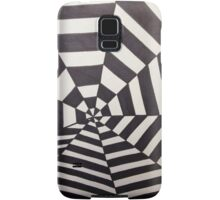 Crooked Optical Illusion Samsung Galaxy Case/Skin