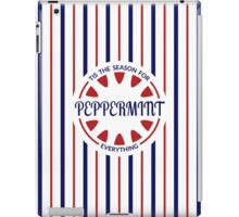 Tis the Season for Peppermint Everything iPad Case/Skin