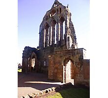 Section from the Kilwinning Abbey Ruin Photographic Print