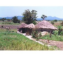 Traditional African Home Photographic Print