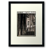 Sandstone and nature Framed Print