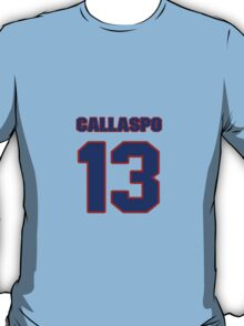 National baseball player Alberto Callaspo jersey 13 T-Shirt