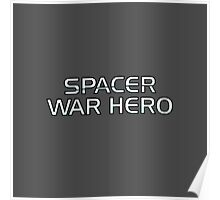 Mass Effect Origins - Spacer War Hero Poster