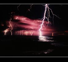 Lightning Over The Pacific by Paul Cotelli