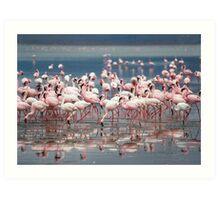 Pink Glorious Pink Art Print