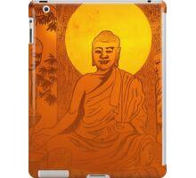 Artwork of Buddha with halo art photo print iPad Case/Skin