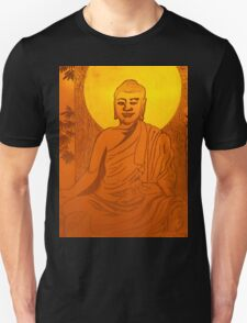 Artwork of Buddha with halo art photo print Unisex T-Shirt