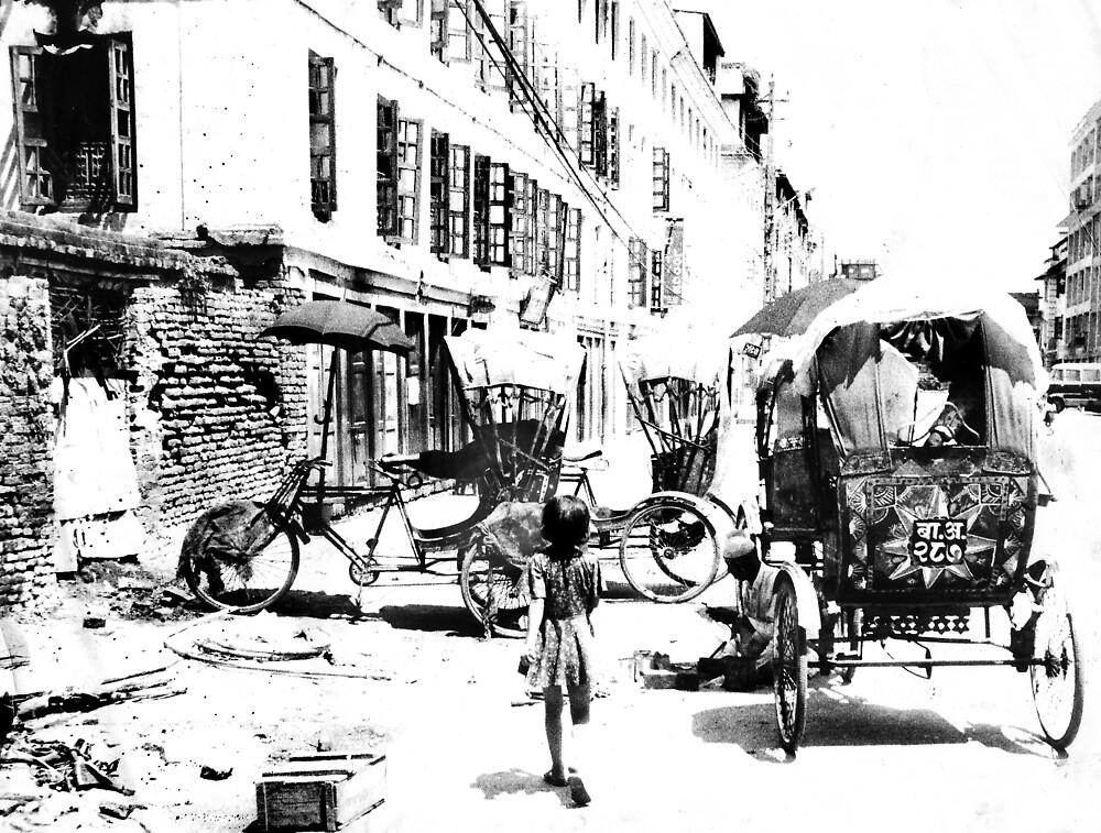 The Rickshaw Girl by Bruce  Watson
