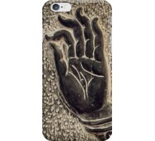 Vitarka Mudra Buddhist hand gesture art photo print iPhone Case/Skin