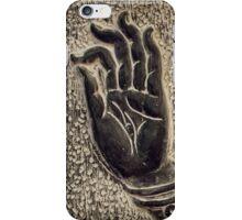 Vitarka Mudra Buddhist hand gesture art photo print iPhone Case/Skin