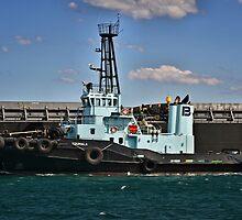 PB Koumala Tug Boat - Newcastle Harbour NSW by Phil Woodman