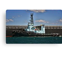 PB Koumala Tug Boat - Newcastle Harbour NSW Canvas Print