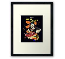 Nemesis Viral Stars Cereal Framed Print