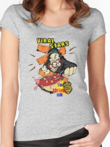 Nemesis Viral Stars Cereal Women's Fitted Scoop T-Shirt