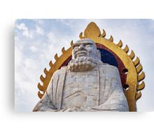 Bodhidharma statue on mount Song in DengFeng China art photo print Canvas Print