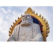 Bodhidharma statue on mount Song in DengFeng China art photo print Photographic Print