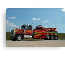 Impact Towing and Recovery Vehicle Canvas Print