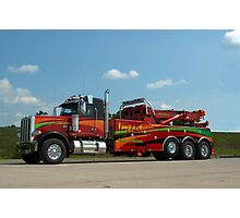 Impact Towing and Recovery Vehicle Photographic Print
