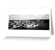 Stockholm B&W Greeting Card
