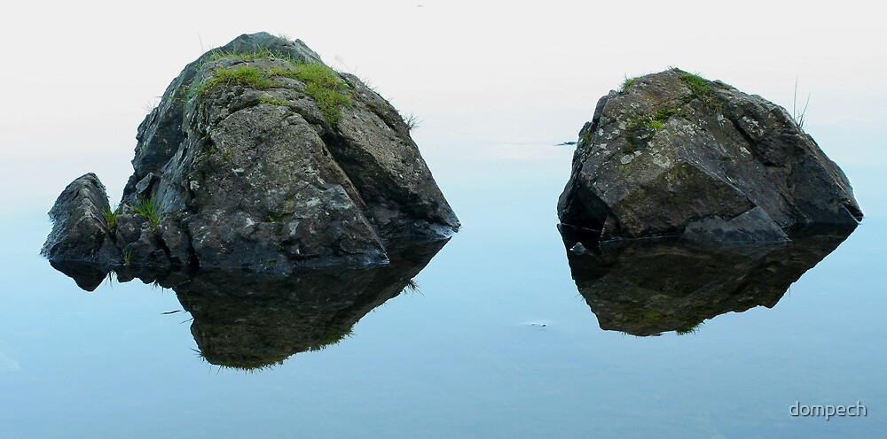 Twin rocks by dompech