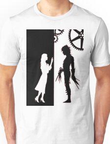 Edwards Scissorhands and Kim Boggs Unisex T-Shirt