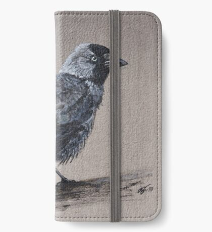 jackdaw iPhone Wallet/Case/Skin