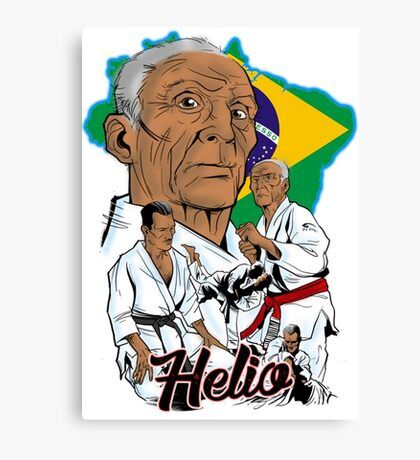 Helio Gracie Canvas Print