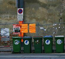 Street in Vienna by Agnieszka Solomon