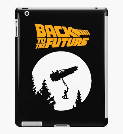 Back to the Future (E.T. twist) iPad Case/Skin