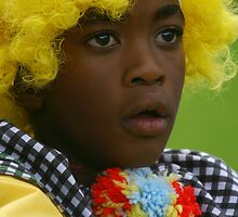 Boy/clown by Agnieszka Solomon
